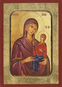 Empfängnis der heiligen Anna, Anna, die Prophetin