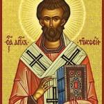 Apostel Timotheos, seliger Martyrer Anastasios, der Perser