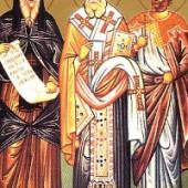 Klemens von Ankara, Martyrer Agathangelos, seliger Dionysios vom Olymp