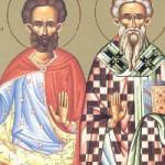 Martyrer Theopemptos & Theonas, selige Synklitiki