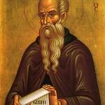 Seliger Theodosios, der Koinobiarch