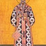Tarasios Patriarch von Konstantinopel, Martyrerpriester Riginos, Bischof von Skopelos