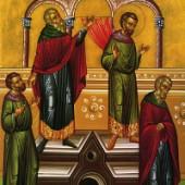 Sonntag des Zöllners und des Pharisäers, Timotheos vom Symbolenberg, Evstathios von Antiochien
