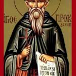 Prokopios von Dekapolis, Stephanos der Altenpfleger