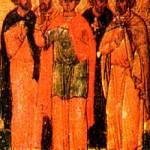 Apostel Aristoboulos, Martyrer Agapios und seine Gefolgschaft