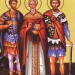 Martyrer Evtropios, Kleonikos, Basiliskos