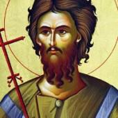Seliger Alexios, der Mensch Gottes, seliger Theostíriktos der Bekenner