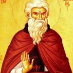 Seliger Johannes Klimakos, der Sinait, Evbouli, Mutter des heiligen Panteleímon
