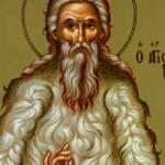 Apostel Zakcheos, seliger Theodoros Trichinas, seliger Athanasios, Gründer des Großen Meteoraklosters