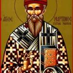 Martinos, Papst von Rom, Zoílos und die anderen Martyrer