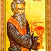 Seliger Georgios vom Maleosberg, Bischof Theonas von Thessaloniki