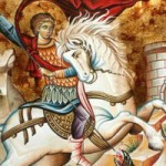 Montag der Lichten Woche, Georgios, der Trophäenträger, Übertragung der Reliquien des Athanasios des Großen