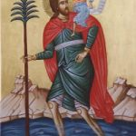 Prophet Isaias, Großmartyrer Christophoros, Martyrerinnen Kalliniki & Akylina