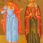 Martyrer Loukillianos & Paula und ihre Gefolgschaft, Martyrerpriester Josef von Thessaloniki