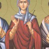 Martyrerin Agrippina, Martyrer Aristoklis, Dimitrios & Athanasios