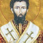 Prophet Amos, Apostel Achaikos & Stephanas, seliger Hieronymos, Augustinos von Hippo