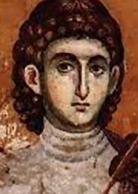 Großmartyrer Prokopios, Theophilos von Zichni, der Myronströmende