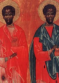 Kosmas und Damianos die Uneigennützigen