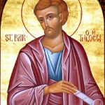 Übertragung der Reliquien des Apostels Bartholomäos, Apostel Titos, Bischof von Gortyna