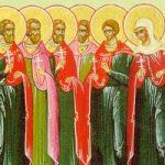 Apostel Matthias, Die 10 Martyrer am Chalki Tor