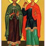 Martyrer Floros und Lavros, Übertragung der Reliquien des seligen Arsenios von Paros