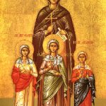 Martyrerinnen Pistis, Elpida, Agapi und ihre Mutter Sophia