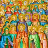 Die 33 Martyrer in Melitini, seliger Lazaros auf dem Berg Galisio