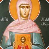 Martyrer Bonifatios, Aglaída, Aris