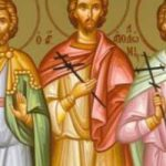 Martyrer Thýrsos, Apollónios, Lefkios, Kallinikos, Arrianós und andere Martyrer