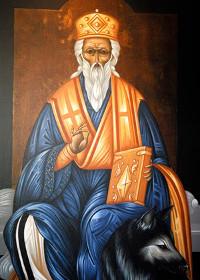 Prophet Haggai, Modestos, Bischof von Jerusalem, Königin Theophanô
