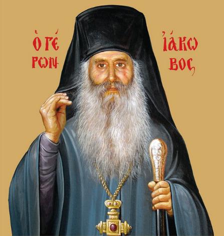 Apolytikon des heiligen Jakobos von Euböa - 1. Ton (Tis erimou politis - Bürger der Wüste)